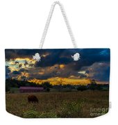 Evening On The Farm One Weekender Tote Bag