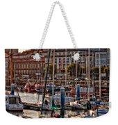 Evening On The Harbor  Weekender Tote Bag