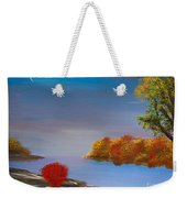 Evening On The Last Sunny Day Weekender Tote Bag