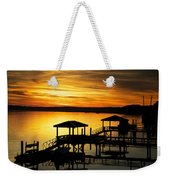 Evening On The May Weekender Tote Bag