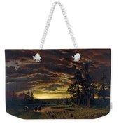 Evening On The Prairie Weekender Tote Bag