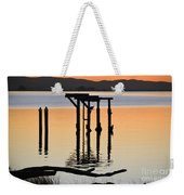 Evening On The Sacramento River Weekender Tote Bag