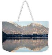 Evening Over Lake Bled Weekender Tote Bag