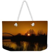 Evening Panoramic View On Pottes - Belgium Weekender Tote Bag