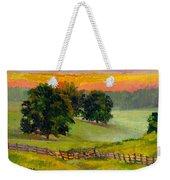 Evening Pastures Weekender Tote Bag