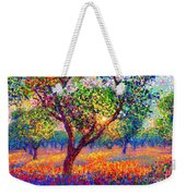 Evening Poppies Weekender Tote Bag by Jane Small
