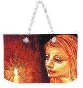 Evening Prayer Weekender Tote Bag by Jane Small