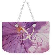 Evening Primrose Flower Weekender Tote Bag