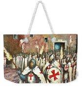 Templar Procession  Weekender Tote Bag