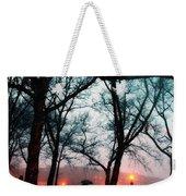 Evening Rain Photofresco Weekender Tote Bag