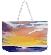 Evening Seascape Weekender Tote Bag by Lou Gibbs