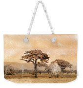 Evening Showers Weekender Tote Bag