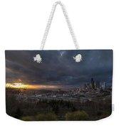 Evening Skies Light Weekender Tote Bag