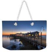 Evening Sky At The Dock Weekender Tote Bag
