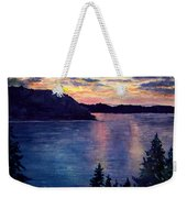 Evening Song Weekender Tote Bag