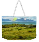 Evening Stroll By The Seashore Weekender Tote Bag