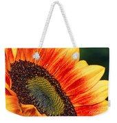 Evening Sun Sunflower Weekender Tote Bag