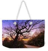 Evening Tree Weekender Tote Bag by Debra and Dave Vanderlaan