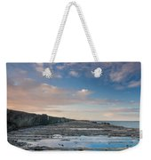 Evening View Down The South Jetty Weekender Tote Bag