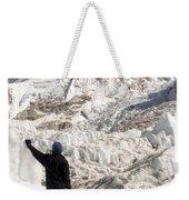 Everest Base Camp Weekender Tote Bag