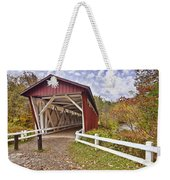 Everett Covered Bridge Weekender Tote Bag