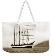 Everett G. Griggs Sailing Ship Washington State 1905 Weekender Tote Bag