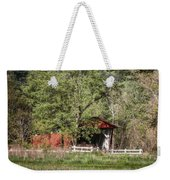 Everett Road Covered Bridge Weekender Tote Bag