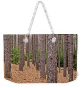 Evergreen Infinity Weekender Tote Bag