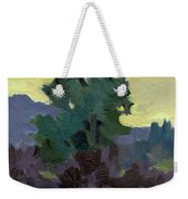 Evergreen Reflections Weekender Tote Bag
