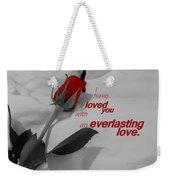 Everlasting Love Weekender Tote Bag