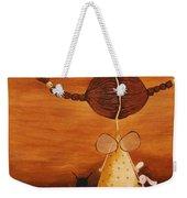 Every Angel Needs A Bunny Weekender Tote Bag