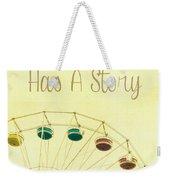 Every Summer Has A Story Weekender Tote Bag