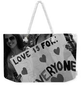 Everyone Weekender Tote Bag