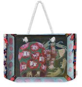 Everything Here Owes Its Life To A Gopher - Framed Weekender Tote Bag