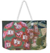 Everything Here Owes Its Life To A Gopher Weekender Tote Bag