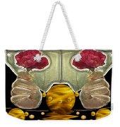 Everything Is In Order In The Universe Pop Art Weekender Tote Bag