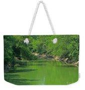 Everywhere Green Weekender Tote Bag