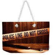 Evidence Weekender Tote Bag