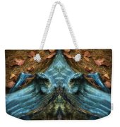Evil Autumn Tree Roots Weekender Tote Bag