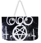 Evil Weekender Tote Bag