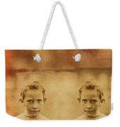 Evil Twins Weekender Tote Bag