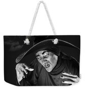 Evil Witch Under A Full Moon Weekender Tote Bag