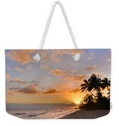 Ewa Beach Sunset 2 - Oahu Hawaii Weekender Tote Bag by Brian Harig