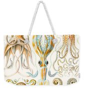 Examples Of Various Cephalopods Weekender Tote Bag