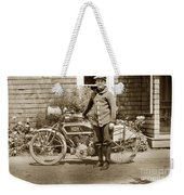 Excalibur Motorcycle California Circa 1915 Weekender Tote Bag