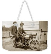 Excalibur Motorcycle Circa 1920 Weekender Tote Bag