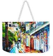 Exchange Alley Weekender Tote Bag