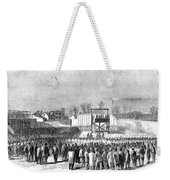 Execution Of Henry Wirzhenry Wirz Weekender Tote Bag