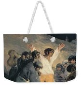 Execution Of The Defenders Of Madrid Weekender Tote Bag