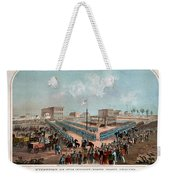 Execution Of The Thirty Eight Sioux Indians Weekender Tote Bag